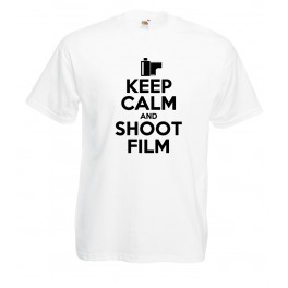 Camiseta Keep Calm and Shoot Film